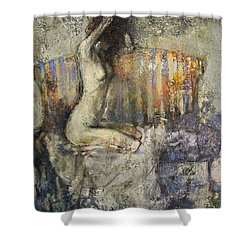 The Antique Sofa Shower Curtain