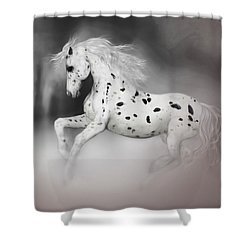 The Appaloosa Shower Curtain