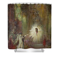 The Apparition Shower Curtain by Gustave Moreau