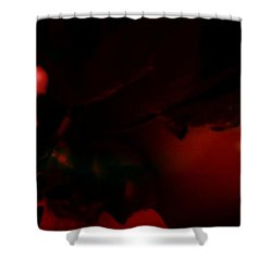 Shower Curtain featuring the photograph The Architect Of Red  by Jessica Shelton