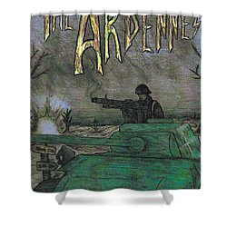 The Ardennes Shower Curtain