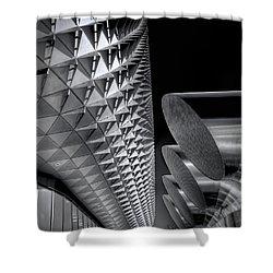The Armadillo Awakes Shower Curtain by Wayne Sherriff