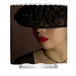 The Art Of Being A Woman Shower Curtain by Evelina Kremsdorf