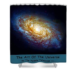 The Art Of The Universe 301 Shower Curtain by The Hubble Telescope