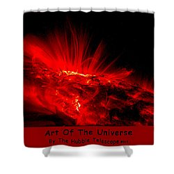 The Art Of The Universe 307 Shower Curtain by The Hubble Telescope