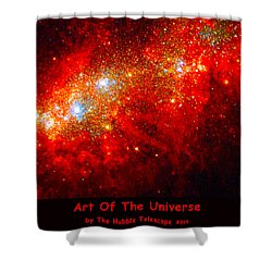 The Art Of The Universe 309 Shower Curtain by The Hubble Telescope