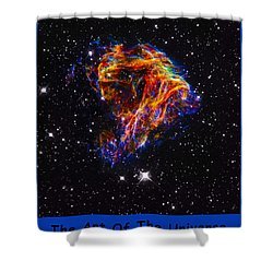 The Art Of The Universe 310 Shower Curtain by The Hubble Telescope