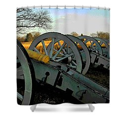 The Artillery Shower Curtain