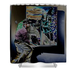 The Artist Paul Emory Shower Curtain