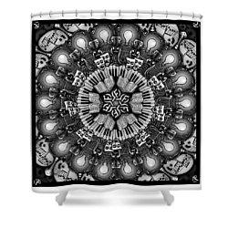 Mandalart Shower Curtain