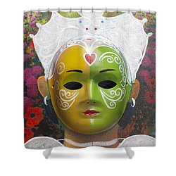 The Autumn Fairy Shower Curtain