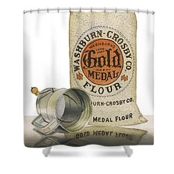 Shower Curtain featuring the painting The Bakers Choice by Ferrel Cordle