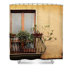 The Balcony Shower Curtain
