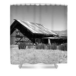 The Barn Shower Curtain