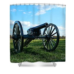 The Battle Is Over - Gettysburg Shower Curtain