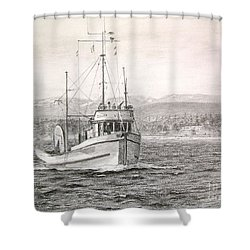 The Bcp 45 Shower Curtain