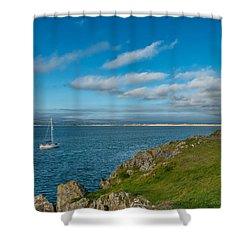 The Beacon  Shower Curtain by Adrian Evans