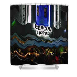 The Beacon Hotel Shower Curtain