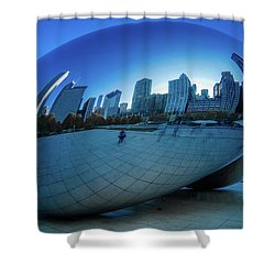 The Bean Shower Curtain by Jonah  Anderson