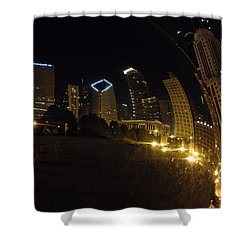 Shower Curtain featuring the photograph The Bean by Tiffany Erdman