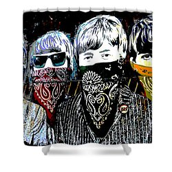The Beatles Shower Curtain