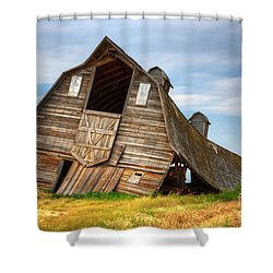 The Beauty Of Barns  Shower Curtain by Bob Christopher
