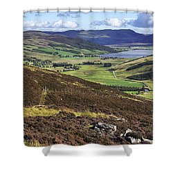 The Beauty Of The Scottish Highlands Shower Curtain by Jason Politte