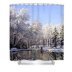 The Beauty Of White Shower Curtain