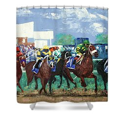 The Bets Are On Again Shower Curtain