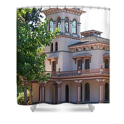 The Bidwell Mansion Shower Curtain