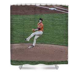 The Big Pitcher Shower Curtain