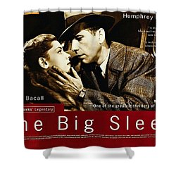 The Big Sleep  Shower Curtain