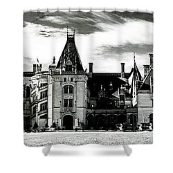 The Biltmore Estate 2 Shower Curtain by Luther Fine Art