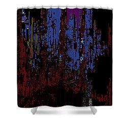 The Binge Shower Curtain by Tim Allen