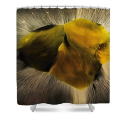The Bionic Ostrich Shower Curtain