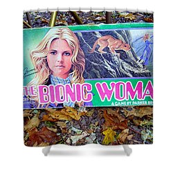 The Bionic Woman Shower Curtain