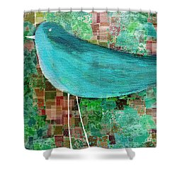 The Bird - 23a1c2 Shower Curtain