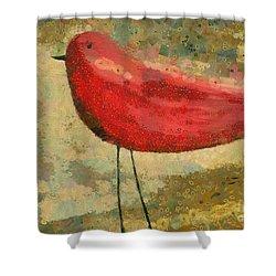 The Bird - K03b Shower Curtain