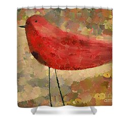 The Bird - K04d Shower Curtain