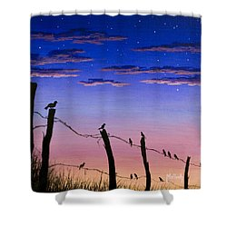 The Birds - Morning Has Broken Shower Curtain