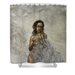 The Birth Of Aphrodite  Shower Curtain