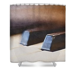 The Black Keys Shower Curtain