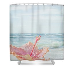 Shower Curtain featuring the photograph The Blue Dawn by Sharon Mau