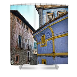 The Blue House Shower Curtain by RicardMN Photography