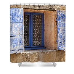 The Blues Shower Curtain by Bob Phillips
