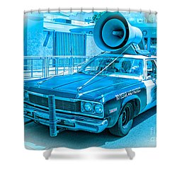 The Blues Brothers Shower Curtain by Edward Fielding