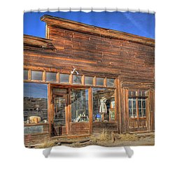 The Boone Store And Warehouse Shower Curtain by Donna Kennedy