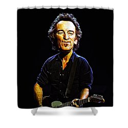 The Boss Shower Curtain by Bill Cannon