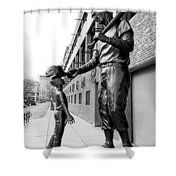 The Boston Legend Shower Curtain by Greg Fortier