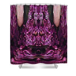 The Bouquet Unleashed 39 Shower Curtain by Tim Allen